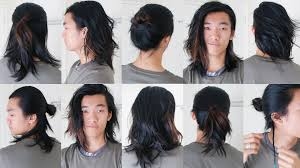 10 easy long hairstyles for men 2016 youtube