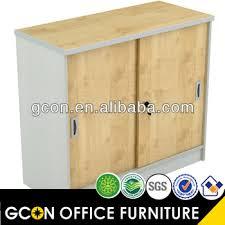 Sliding Door Storage Cabinet by 2 Door Wood Sliding U0026 Lockable Storage Cabinet Gf515 Buy 2 Door