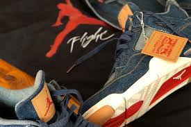 Nike Levis levis x nike air 4 denim pack sneakers magazine