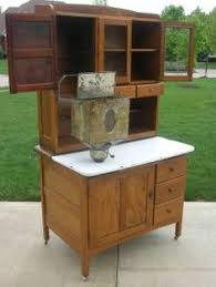 Antique Kitchen Cabinet With Flour Bin Hoosier Seller U0027s Baking Cabinet From 1938 Dated On Cabinet Fully