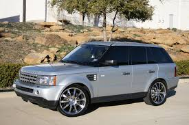 2009 range rover sport sc with 22