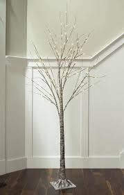 lighted birch tree branches images