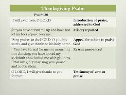 Psalms Of Praise And Thanksgiving The Bible Jesus Used A Gospel Centered Glance At The Old Testament
