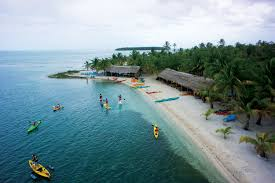 Belize On Map Top Belize Resorts Long Caye Private Island 800 390 5715