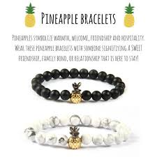 family bracelets pineapple bracelets alpha accessories alphaaccessories co