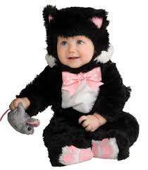 Black Cat Halloween Costume Kids Sneaky Black Kitty Cat Baby Costume Costumes