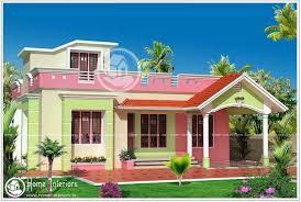 1460 sq ft Single Floor Home Plan