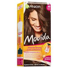 garnier movida 45 dark brown semi permanent hair color peppery spot