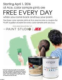 free color sample pints