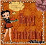 betty boop thanksgiving graphic 3614476 blingee