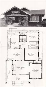 californian bungalow floor plans 1918 bungalow house plan by e w stillwell los angeles