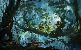 future village wallpapers enchanted forest wallpapers 62 images