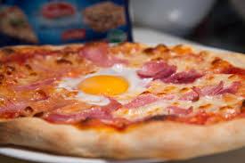 cuisiner une pizza pizza jambon oeuf recette pizza jambon oeuf envie de bien manger