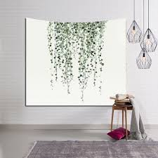 wall carpet aliexpress com buy tropical leaves wall hanging new arrival
