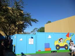 hollywood studios update christmas at echo lake star wars toy looking to the future entrance to toy story land