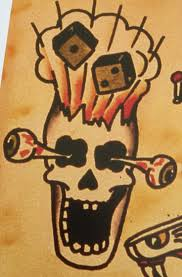 sailor jerry tattoos skulls pictures to pin on tattooskid