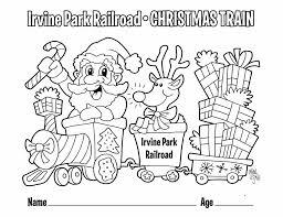 children u0027s coloring page irvine park railroad