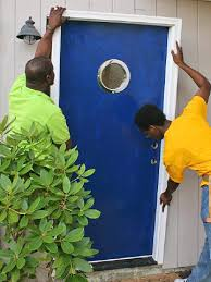 Install Basement Door by Installing A Prehung Exterior Door How To Install House Doors