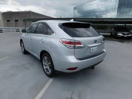 lexus dealers houston tx area 2015 lexus rx 450h in texas for sale 57 used cars from 32 693