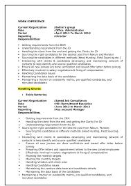 Sample Plain Text Resume by Krishna Resume New