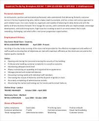Assistant Branch Manager Resume Free Manager Resume Templates 40 Free Word Pdf Documents