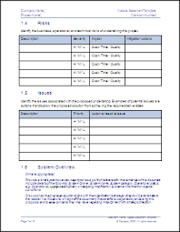 statement of needs template technical writing tips