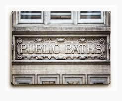 Vintage Bathroom Decor by Public Bath Wood Plank U2022 Lisa Russo Fine Art Photography