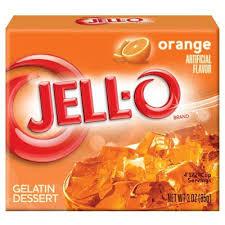 comprar jell o naranja gelatina comida americana
