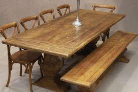 Elm Dining Table Distressed Limed Elm Table White Washed Tuscan Base Dining Table