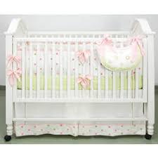 Pink And Green Crib Bedding And Green Polka Dot Crib Bedding