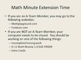 chapter 3 review u0026 post test math minute directions work by