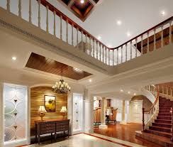 luxurious home stairs design white and brown space with wooden