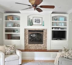 Cg Family Room White Built Ins Book Shelves Pinterest - Family room built in cabinets