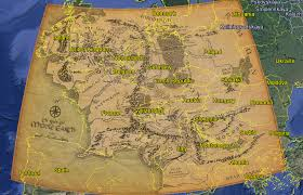 World Map To Scale by I Projected Middle Earth At The Correct Scale Onto Europe In