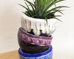 ceramic plant pot etsy