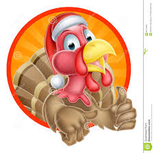 free funny thanksgiving cards funny turkey cartoon thumb up stock image image 34699761