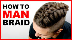 Kinds Of Hairstyles For Men by Man Braid Tutorial Men U0027s Hair Styles 2017 Youtube