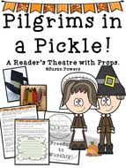 pilgrims in a pickle a thanksgiving reader s theatre activity