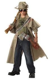 Halloween Zombie Costume Kids Soldier Costume Child Camouflage Uniform Halloween Dress