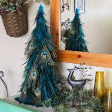 30 magical feather christmas tree decoration ideas christmas