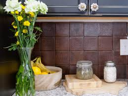 cheap diy kitchen backsplash kitchen travertine backsplashes hgtv creative diy kitchen