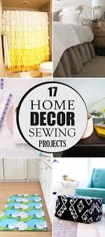 Home Decorating Sewing Projects 17 Home Decor Sewing Projects