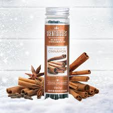 two dashes of cinnamon scented ornaments