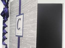 Where To Buy Wedding Photo Albums Navy U0026 Silver Wedding Photo Booth Album Guest Book Made To Order
