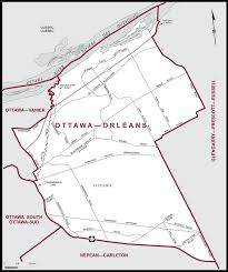 maps orleans ottawa orléans maps corner elections canada