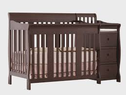 Changing Table Crib Combo 10 Influences Of Baby Crib Dresser Changing Table