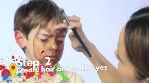 Halloween Werewolf Makeup Werewolf Face Painting Tutorial Youtube