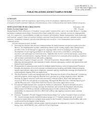 confortable public relations resume cover letter for your public