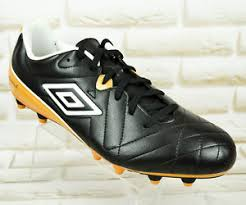 Sho Hg umbro speciali 4 shield hg mens pro football boots black gold shoe