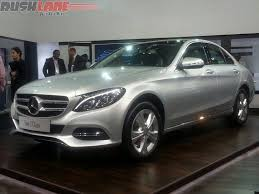 mercedes c class price in india 2015 mercedes c class makes india debut at cebit